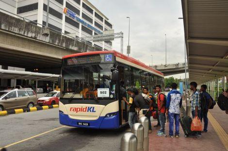 Bus 690, from TBS to Pudu Sentral (Puduraya). Kuala Lumpur