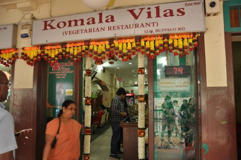 Komala Vila Restaurante. Little India