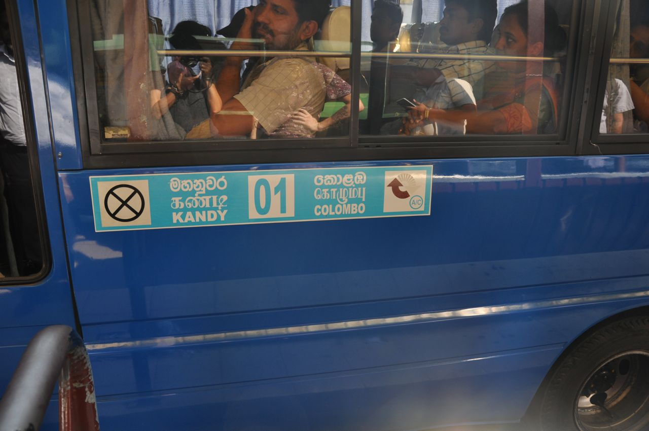 How To Travel By Bus In Sri Lanka The Challenge