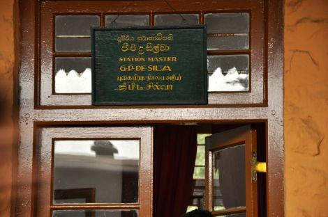 Train station between Hatton and Ella. Sri Lanka