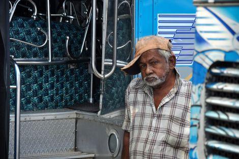 Bus Driver. Sri Lanka