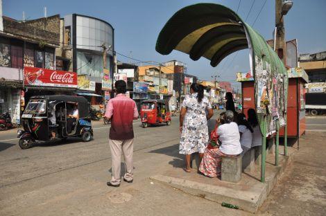 Bus Stand. Sri Lanka