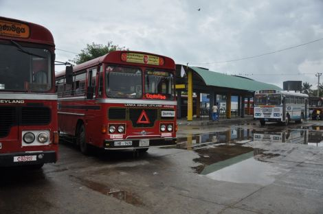 Trincomalee Bus station. Sri Lanka