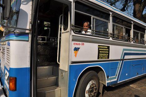 Lanka Ashok Leyland Bus. Sri Lanka