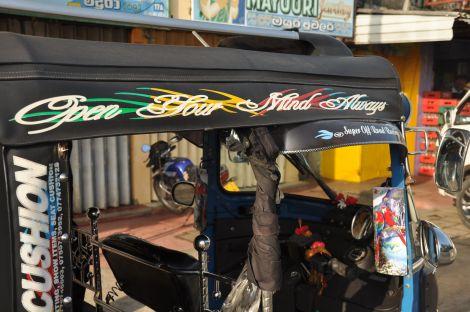 Open your mind always... tuk-tuk. Sri Lanka