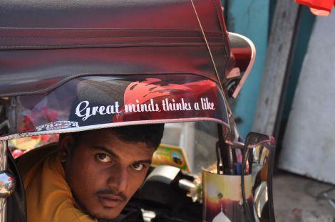Great minds think a like!.... tuk-tuk. Sri Lanka